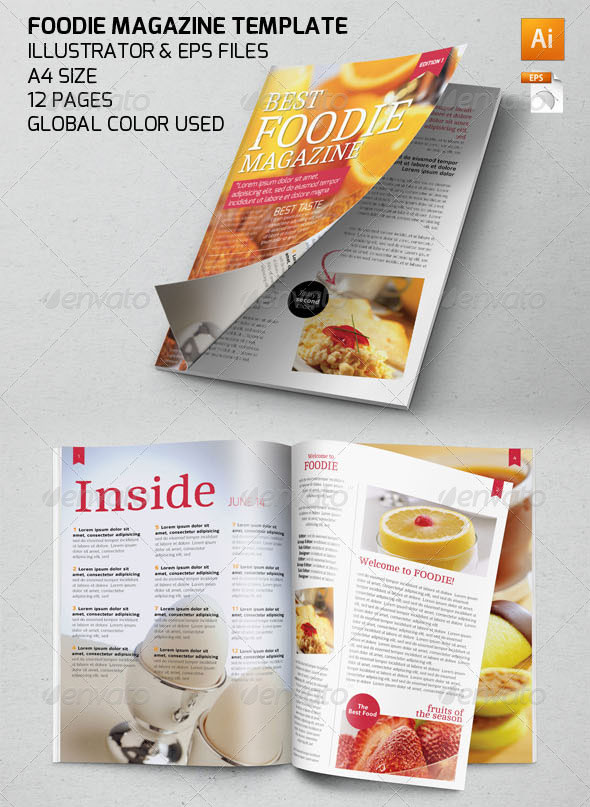 35 Free Magazine Template Designs - iDevie