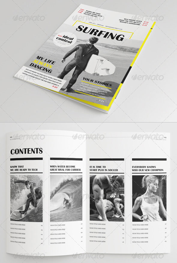 25 Pages Sport Magazine Vol47
