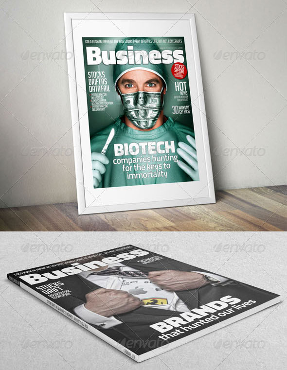 Business / Multipurpose Magazine Template