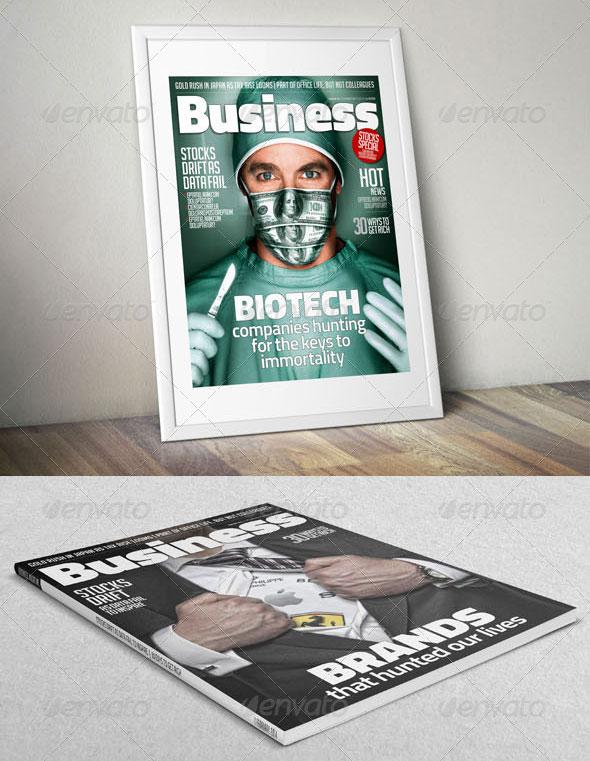 Business / Multipurpose Magazine Template