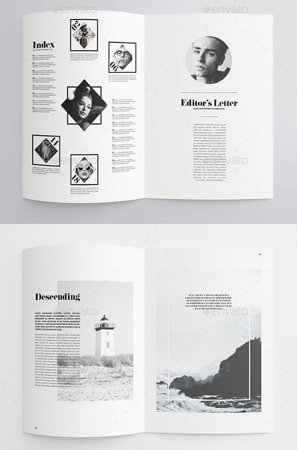 35 free magazine template designs idevie minimal magazine maxwellsz