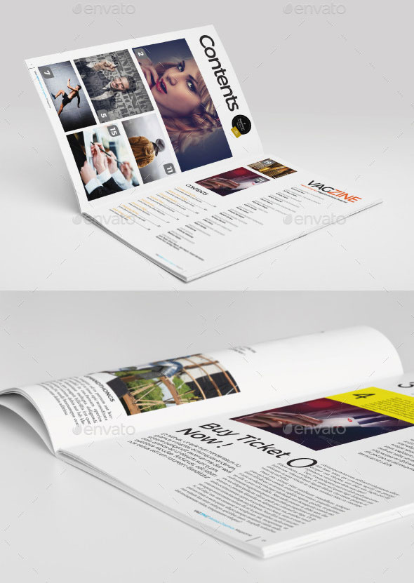 Various Graphics Magazine Template