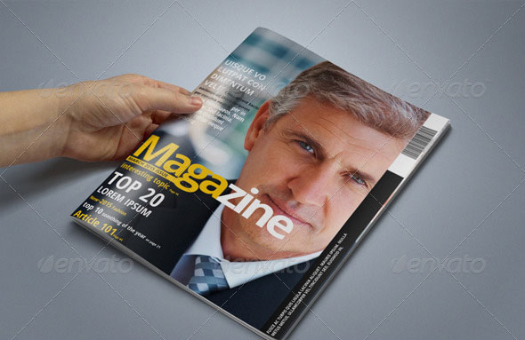 60 Pages Multipurpose Magazine Template - PSD