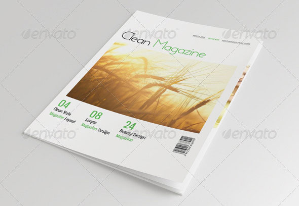 25 Pages Minimal Magazine Vol32