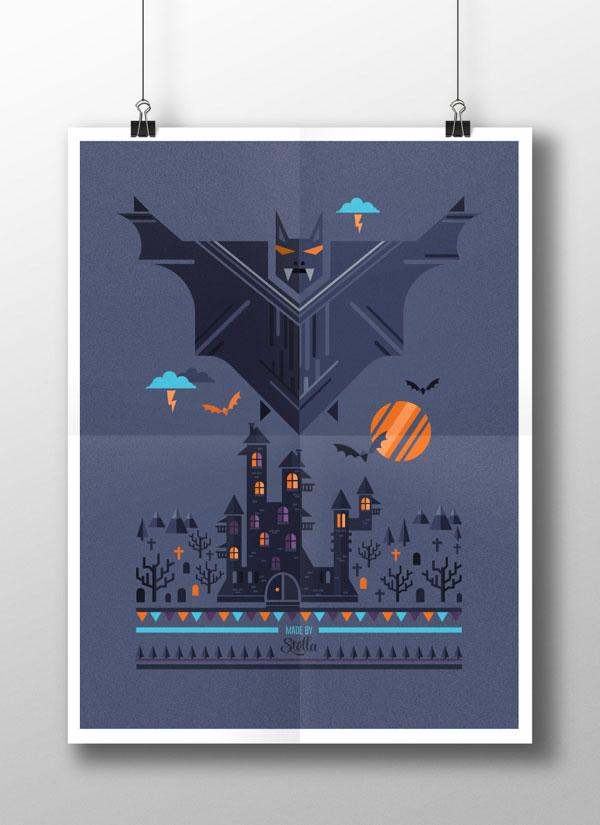 Halloween Simplistic Posters