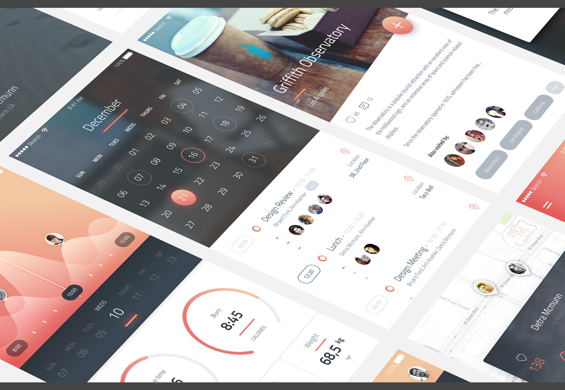 Phoenix: iPhone 6 UI Kit