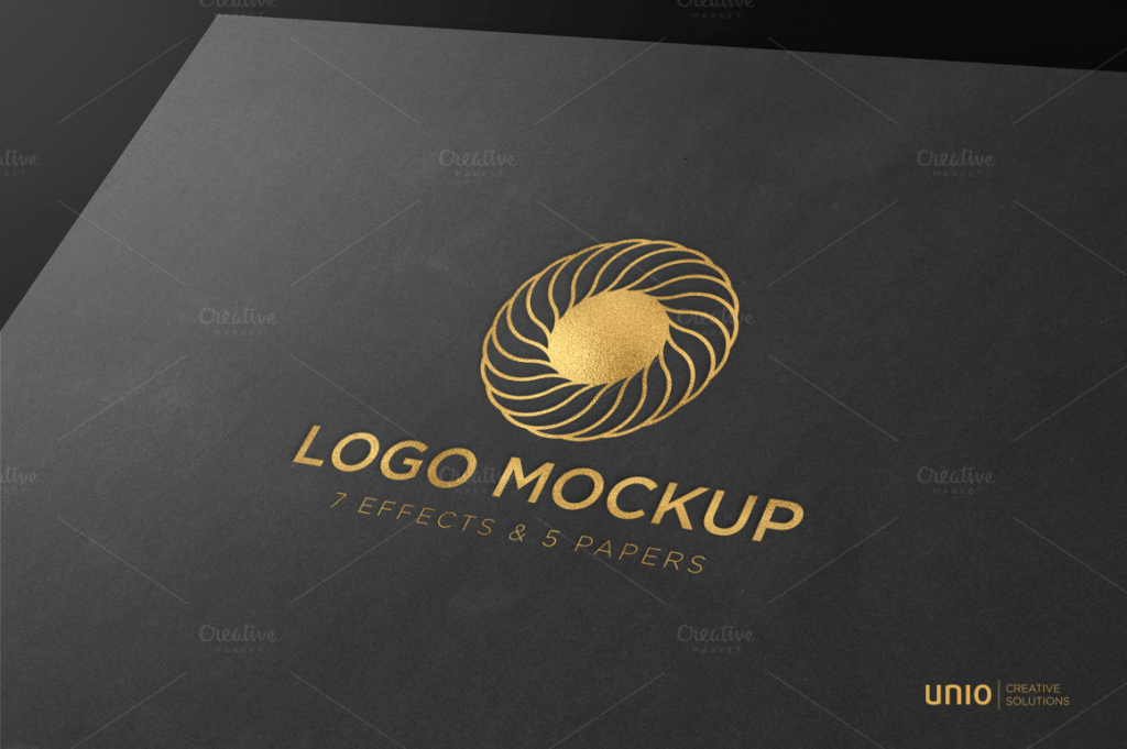 wax seal logo mock-up template vol 2 download