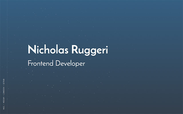 Nicholas Ruggeri
