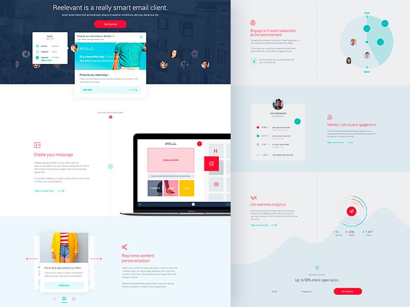 Reelevant Homepage