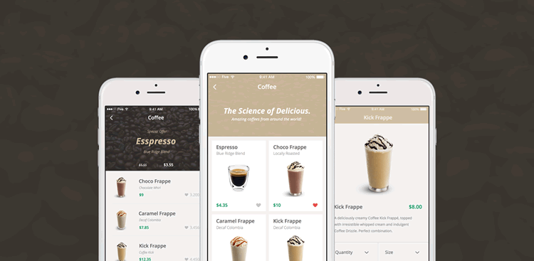 eCommerce Mobile App UI Kit 50 Screens Sketch Format Ena Bacanovic