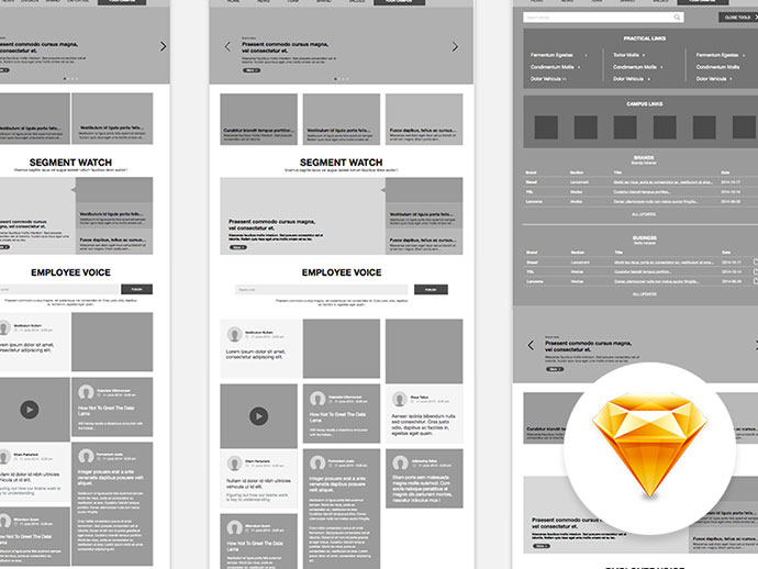 free sketch wireframe