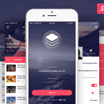 20 Free Mobile UI Kits for iOS & Android
