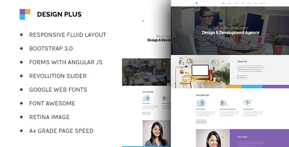 Design agency corporate business html5 template idevie design agency corporate business html5 template an introduction accmission Gallery