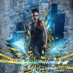 Create this Poster Design with Abstract Effects in Photoshop