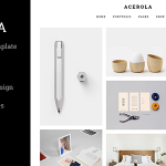 Acerola – Ultra Minimalist Agency HTML Template – 14278078