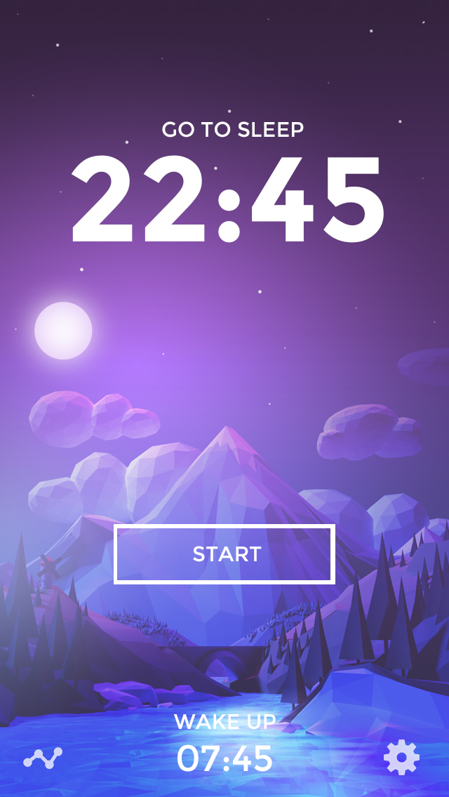 Homescreen-nighttime