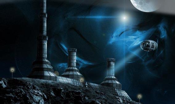 How To Create a Futuristic Sci-Fi Scene