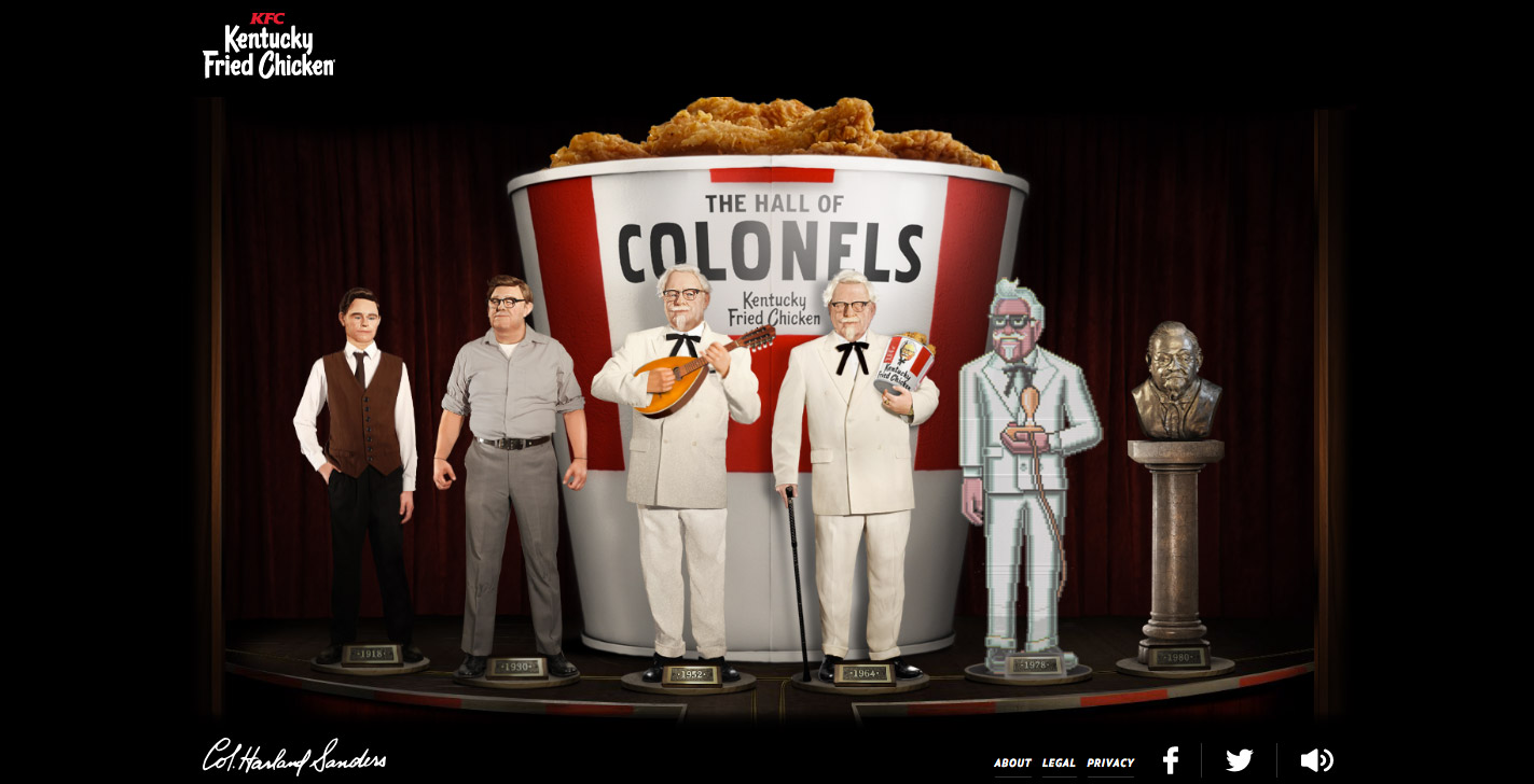 KFC- The Hall of Colonels