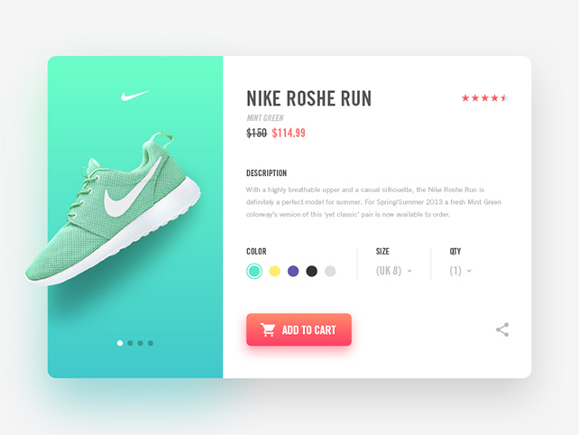 Nike-Product-Page