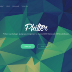 Philter – Control CSS Filters with HTML Attributes