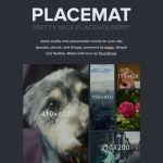 Placemat – Some Pretty Nice Placeholder Nouns for Sites