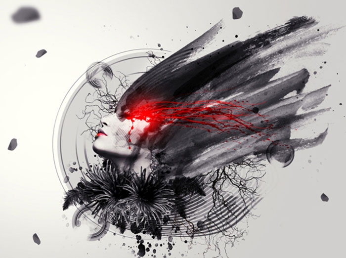 Create the Abstract Photo Manipulation Imperfection