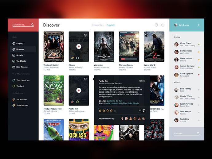 2. Movie Service UI