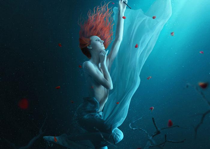 Create a Fantasy Underwater Scene with Photoshop