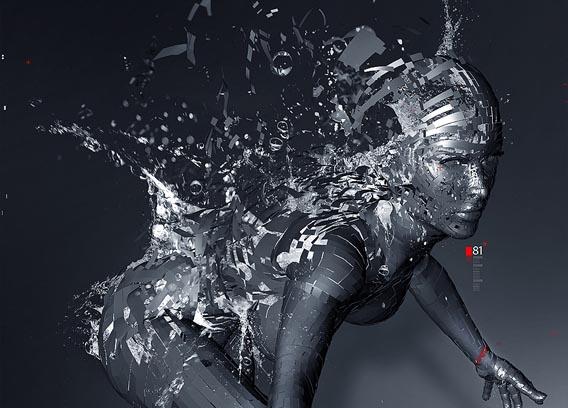 Create a Stunning 3D Liquid Explosion Artwork