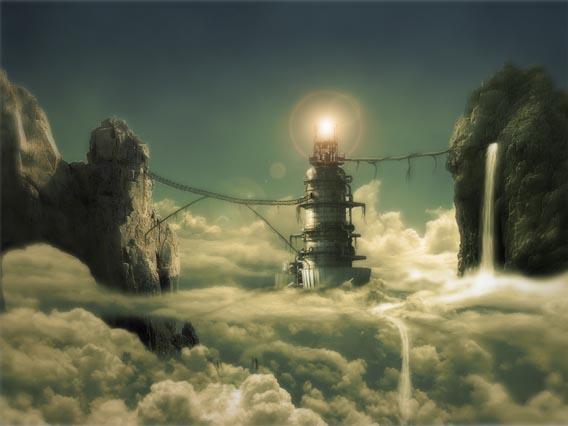 Creating a Cloudy Dream Scene in Photoshop