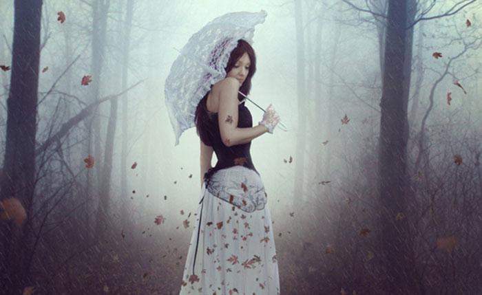 Create an Emotional Autumn Scene Photo Manipulation