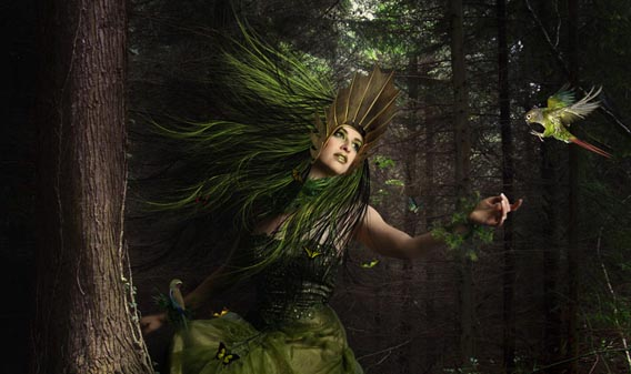 How to Create a Fantasy Mother Nature Scene