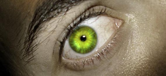 Hulk Eyes Effect - Photoshop Tutorial