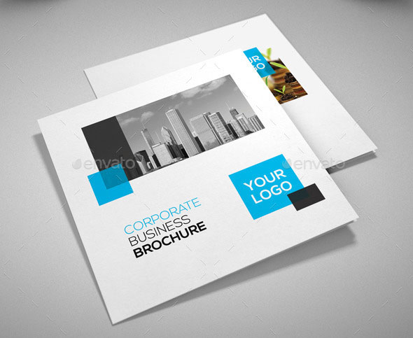 Striking Square Brochure Template Designs IDevie - Brochure template ideas