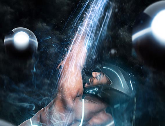 Make a TRON-Inspired Photo Manipulation in Photoshop