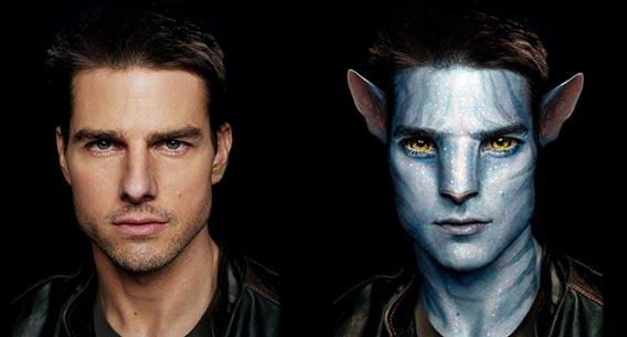 Na'vi Avatar Photo Manipulation