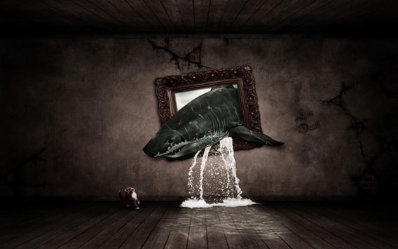Create a Out of Bounds Surreal Photo manipulation in Photoshop