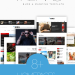 TheMag – A News and Magazine Template