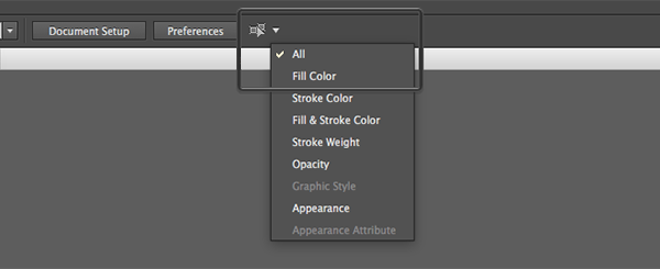 Select Fill Color