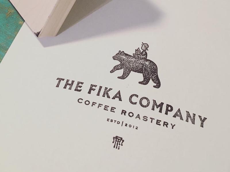 Fika Stamped