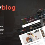 CrazyBlog – Blog HTML Template for Ads Businesses