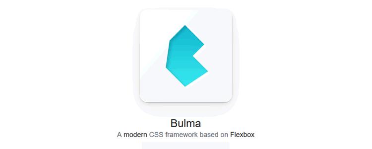 Bulma modern CSS framework Flexbox