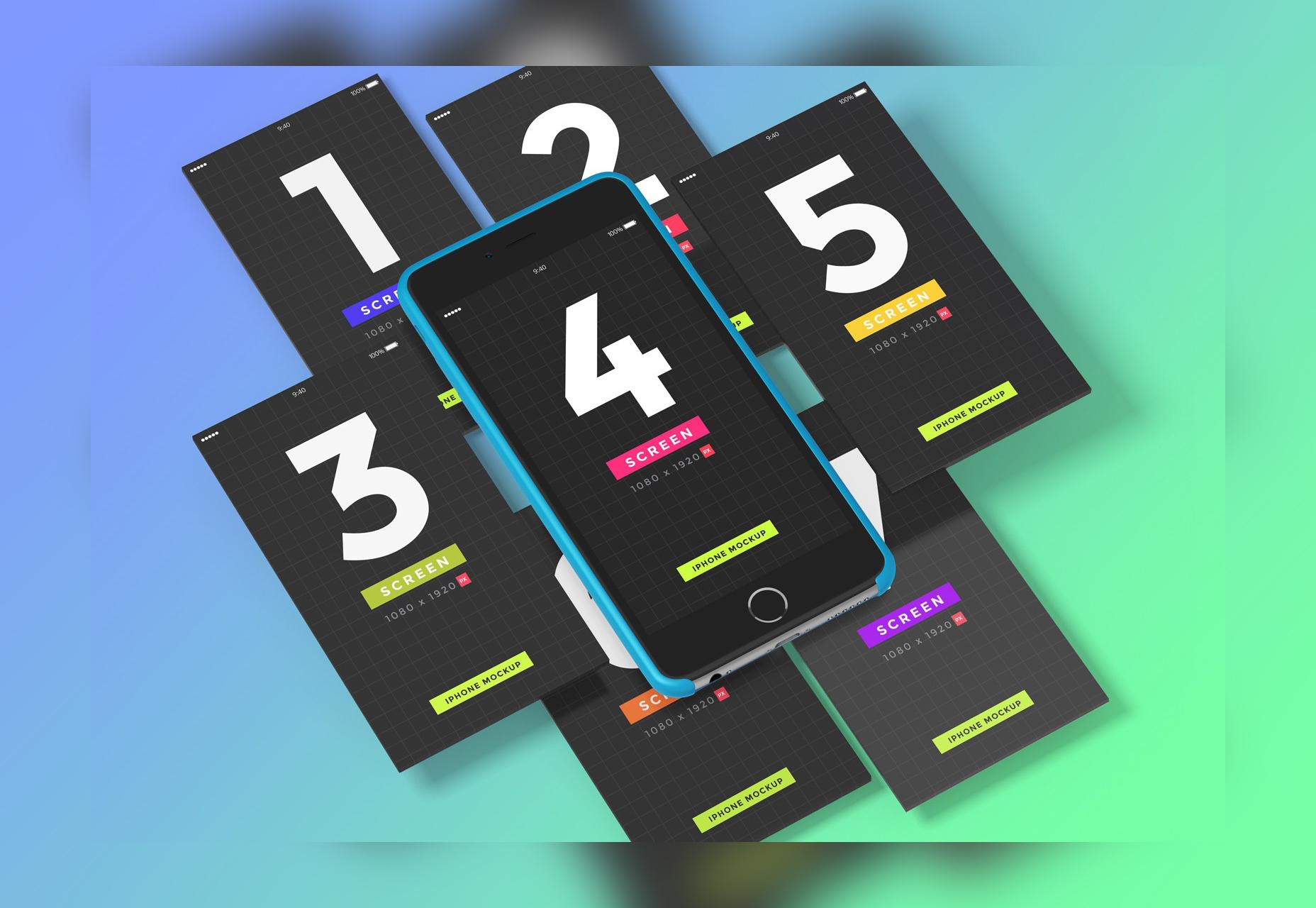 PSD UI Presentation Kit