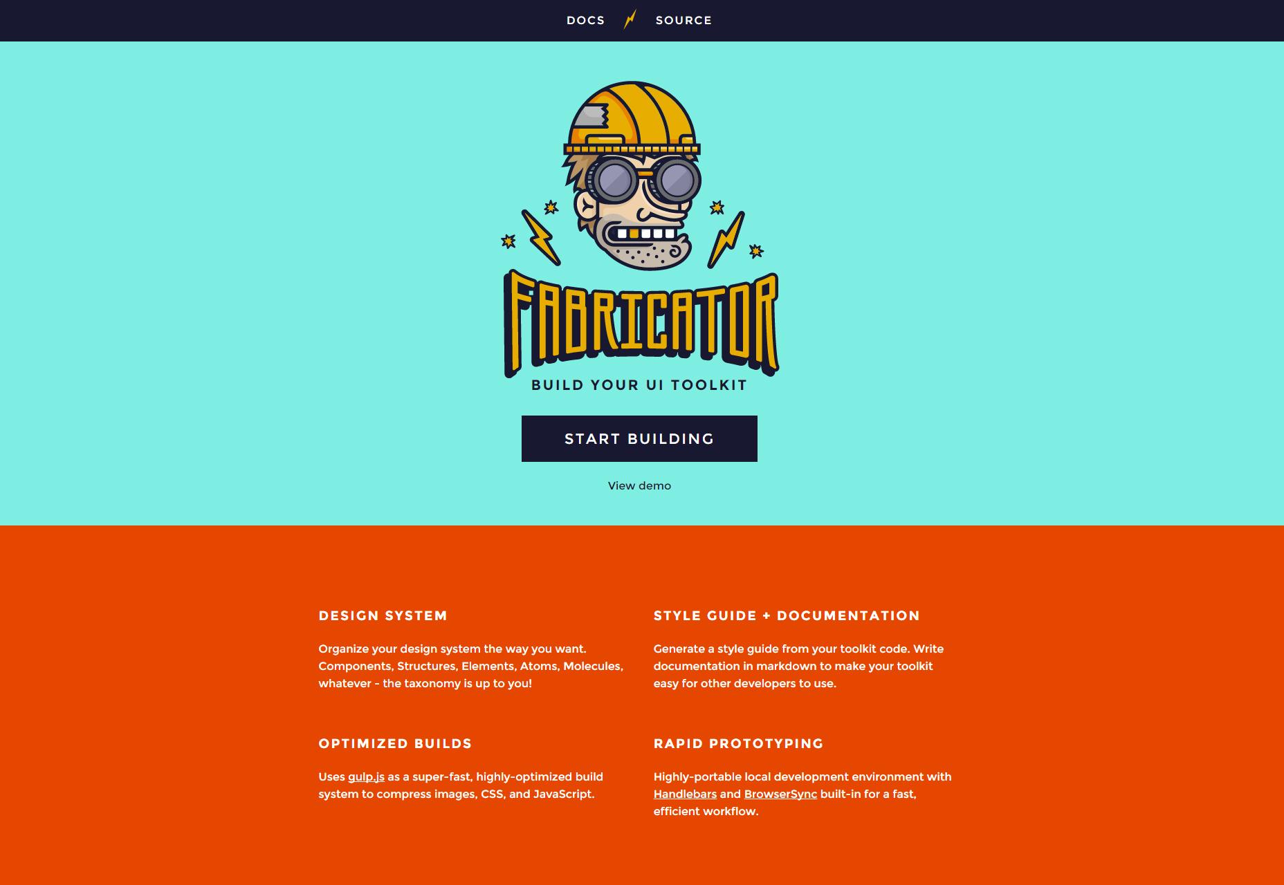 Fabricator: NodeJS UI Toolkit Builder
