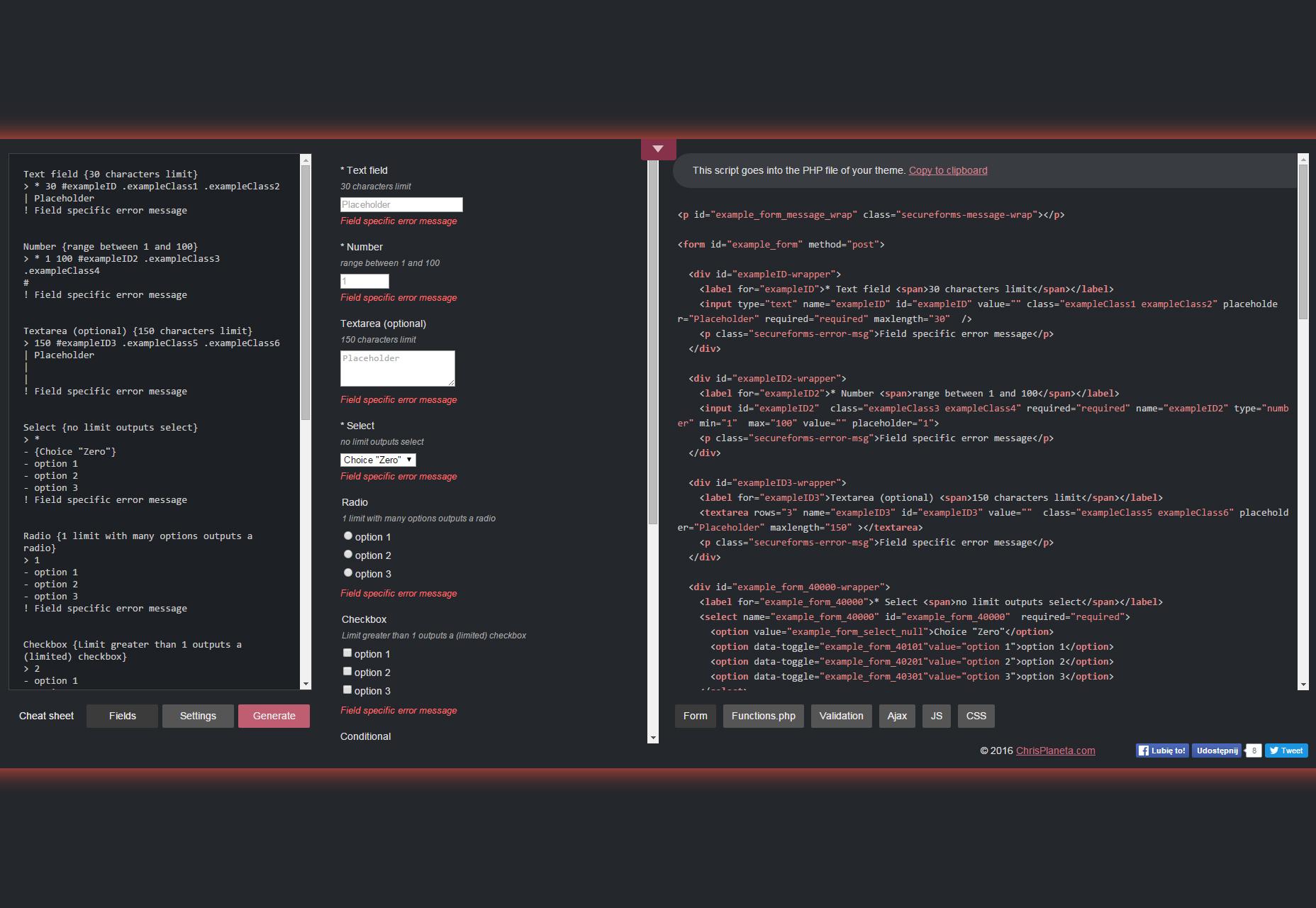 WP Secure Forms: WordPress Ajax Forms Generator