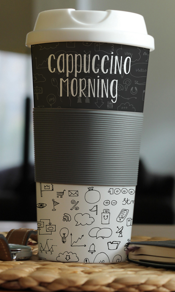 Photorealistic Coffee Cup Mockup