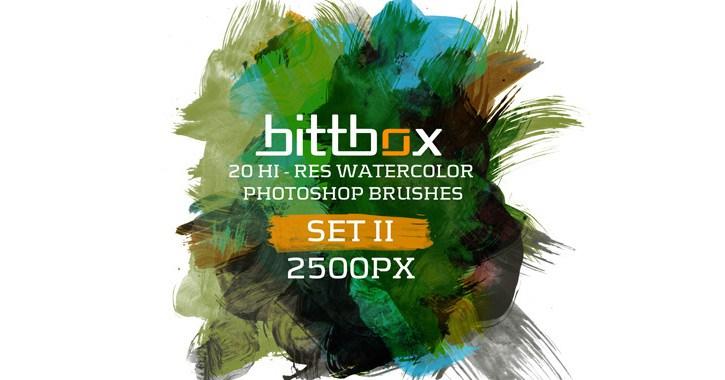 bittbox vol ii watercolors