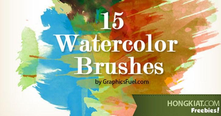 hongkiat watercolor brushes