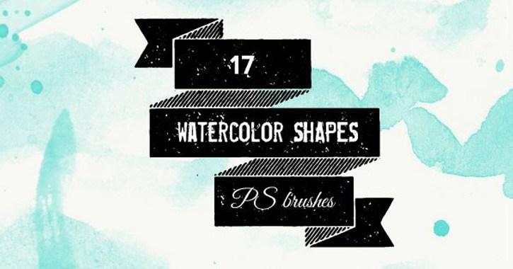 shape splatter brushes photoshop