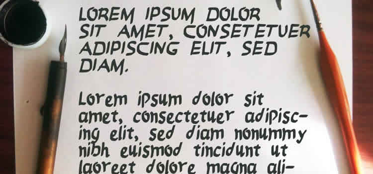 Rosco Free Brush Font